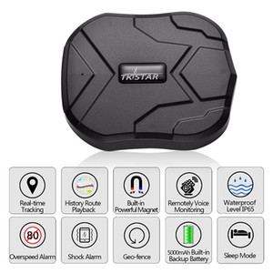 TK905 Quad Band GPS Tracker 5000mAh longa vida da bateria em standby Strong Magnetic Waterproof dispositivos Tempo real Rastreamento GPS Car Locator