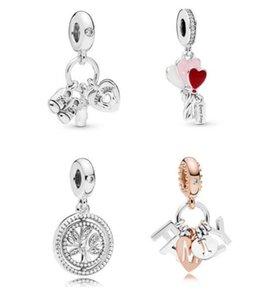 2019 Mère Jour My Petit Baby Suspendre Charme Fits Pour Pandora Bracelets Collier 925 Perles Sterling Silver Beads Bricolage Perles Lâche Bijoux