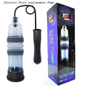 Electric Spa Water Pump Bath Pe-nis Enlargement Vacuum water pump With Electric Hand ball pump Waterproof Penis Extender