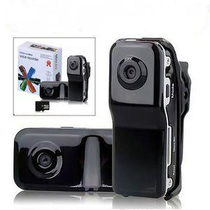 MD80 mini DVR 720P HD Mini videocamera digitale di movimento registratore Videocamera webcam micro camma macchina fotografica di sport di DV Video con il supporto della r20
