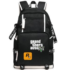 Zaino Vice City GTA day pack Grand Theft Auto sacchetto di scuola game packsack Zaino per laptop Sport zainetto Outdoor daypack