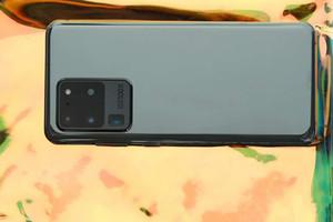 6.9 polegadas All tela HD + Goophone S20Ultra 5G WCDMA Quad Core mostrar 16GB + 512GB Android caso de telefone celular 10,0 S20 Android