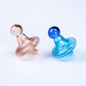 NOUVEAU Glass Sorcière Chapeau Casquettes Carb pour Quartz Thermal Banger Nails Eau en verre Bongs DAB Planches Tuyaux Fumeurs Fy2230