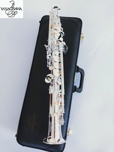 Best quality Japan YANAGISAWA S992 B Flat Soprano Saxophone Musical Instruments Sax Brass Silver-plated With Case Professional