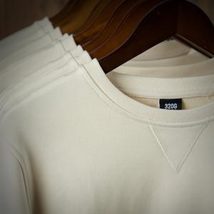 320G Heavy Shirting Fashion Brand Men's Hoodies 2020 Spring Autumn Male Casual Hoodies Sweatshirts Men's Solid Color Hoodies Sweatshirt Tops