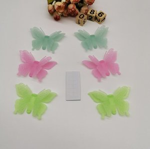 6PCS Glow in butterfly Wall Decal Fairy Vinyl Luminous Stickers for Kids Girls Nursery Bedroom DIY Mural Decoration