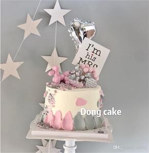 Decorare Dog Balloon Rifornimenti del mestiere della torta di cottura pura decorazione della resina di colore delicato regalo di stile bello del fumetto caldo di vendita 4 39mjb1