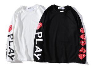 Designer Hip Hop bedruckte Hoodies für Männer Frauen CDG PLAY Hoodie schwitzt Harajuku Streetwear Tour Hoodie Trainingsanzug
