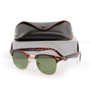10 Teile / los Klassische herren schwarz sonnenbrille vintage Unisex Sonnenbrille Club frauen Sonnenbrille Markendesigner Sun glassess mit fällen und boxen
