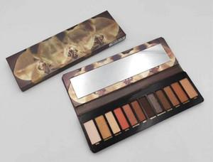 HOT palette de maquillage reloaded 12colors palette de fard à paupières NUDE fard à paupières palette de poudre Mat Shimmer DHL gratuite