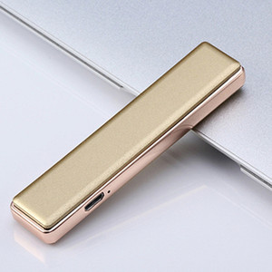 Newest Colorful USB Cyclic Charging Lighter Plastic Shell Windproof Portable Innovative Design For Cigarette Bong Smoking Pipe