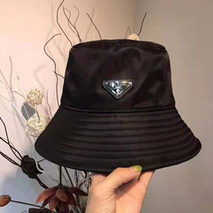 تصميم الأزياء الساخن مع قبعة صياد الثلاثي وقبعة 2019 جديد شمسية من النايلون الأسود سيدة تزين قبعة الصياد مع حافة قصيرة