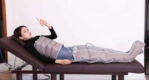16 PCS Air Bags Máquina de Drenagem Linfática Venda Quente Pressoterapia Equipamento de Emagrecimento para As Pernas 2019 Dispositivo de Massagem de Pressão de Ar para o Corpo