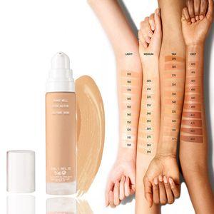 PRO Soft Longwear Foundation Liquid Moisturizing Waterproof Full Coverage For Black White Skin Lightless As Air 200 100 300- 450 Makeup