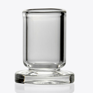 Mejor Holder Diseño Casquillo de Carb grueso de cristal claro de soporte Stander OD de 25 mm de carbohidratos de cuarzo casquillo casquillos dabber