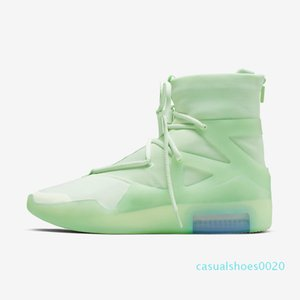 With Box FOG Fear of God X 1 SA 180 Raid Boots Light Bone Luxury Designers Running Shoes Sail Outdoor sports Sneakers 36-45 c20