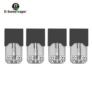 Original E-bossvape Epod Cartouche 4pcs 0.5ml Capacité 1.5ohm bobine pour E-bossvape Epod Starter Kit