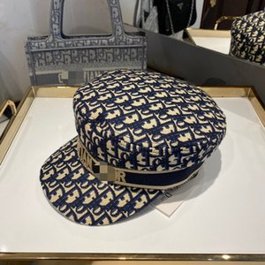 C D Designer Mütze Herbst Winter Dame Hüte Buchstabedruckes Urlaub Mode blau schwarz Frauenentwerfer Hut