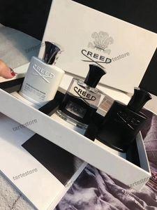 Yeni Erkekler Parfüm 3 adettakım Deodorant Tütsü Kokusu Kokulu Gümüş Dağ Su / Creed aventus / Yeşil İrlandalı Tüvit 30 ml Ücretsiz Kargo
