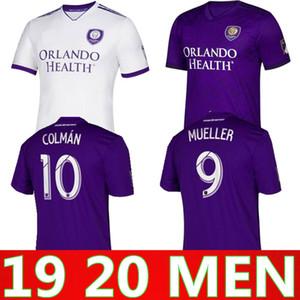 2019 2020 Orlando City camisa de futebol de casa MUELLER uniformes camisa de futebol COLMAN maillot de pé 19 de 20 crianças orlando camiseta de futebol kit