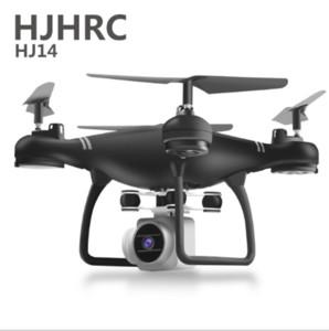 전환 컨트롤러 하나의 키와 저렴한 HJHRC HJ14 포켓 드론 4CH 6Axis 자이로 쿼드 콥터는 RTF UAV RC 헬리콥터 미니 드론을 반환