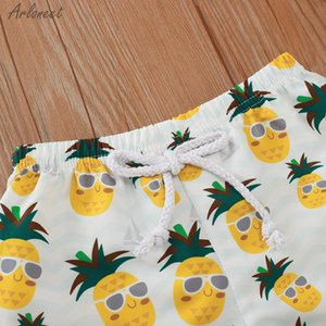 Summer Toddler Kids Baby Swimwear Floral Casual Elastic Waistband Beach Shorts Clothes Boys Kids Pants Fashion New