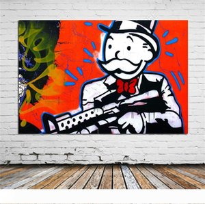 Alec Monopoly -1,HD Canvas Print Home Decor Art Painting (Unframed Framed)