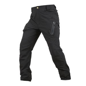 Shanghai Story Men's Outdoor Tactical Hiking Pants Stretch Quick-Drying Pants