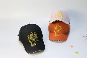 2020 Link-Hot Spring Summer 2020 Neuer Hut Leopard-Tiger-Kopf Baseballmütze im Freien Sonnenschutz-Hut-Kappe für Männer und Frauen