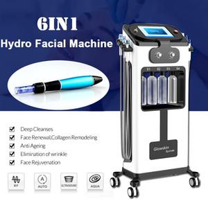 Hydra الوجه الأكسجين هيدرا آلات الوجه الكهربائية ديرما القلم يزيل تنظيف الجلد الميت تجديد أكوا آلة تنظيف الوجه