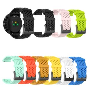 Watch Accessories For Suunto 9 D5 Watchband Band For Suunto Spartan Sport Suunto Spartan Sport Wrist HR Baro 24mm Silicone strap