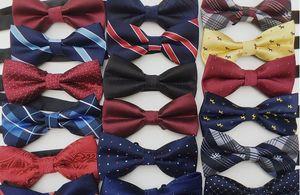Sıcak satış yeni Unisex Boyun Papyon Papyon Ayarlanabilir Bow Tie yüksek kaliteli metal ayar tokaları çoklu tarzı