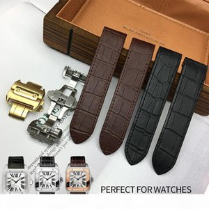 20mm 23mm Top Quality Genuine Leather Texture Italian Cowhide Watch Strap Universal Belt Perfect for Watches DE