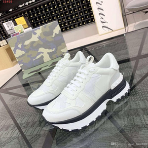 2020 new Boutiques are sold out White black and army green high quality men casual running shoes Camouflage shoes top quality suppliers