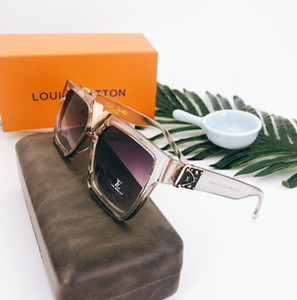 Kılıf ücretsiz gönderim ile 2020 Moda Güneş Klasik Retro Pilot Çerçeve Cam Lens UV400 Koruma Gözlük