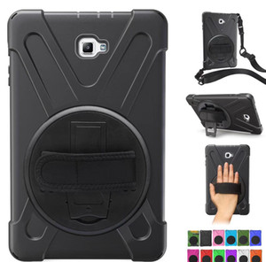 كفر حماية لأبل أيباد آير ميني 4 3 2 1 A1822 360 Hand Rotating Pc + Silicon Case Stand غطاء فليب