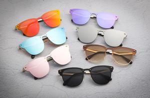 5pcs / Lot العلامة التجارية الشهيرة مصمم النظارات الشمسية للرجال والنساء عارضة أزياء سيامي في الهواء الطلق النظارات الشمسية سبايك الحريق 3576 نوعية جيدة