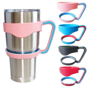 Portable Plastic cup Hand handle Holder Mugs black mug Holder For 20 oz 30 oz Cups Handle hiking Outdoor Gadgets