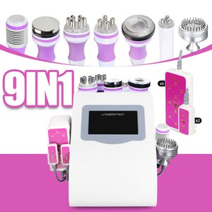 Free Shipping Unoisetion cavitation 2.0 40k Vacuum Microcurrent &photon Led Cellilute 5mw 635nm ~650nm laser machine Slimming for skin care