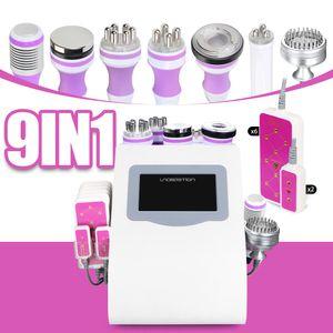 Spedizione gratuita Unoisetion cavitazione 2.0 40k vuoto Microcurrent fotone Led Cellilute 5mw 635nm ~ macchina laser 650nm dimagrante per la cura della pelle
