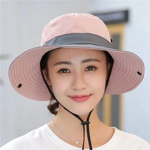 Outdoor sunshade hat couple fisherman's cap female foldable sun hat summer sunscreen hat cycling travel mountaineering cap