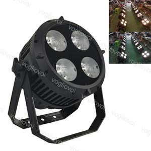 Par Light 200W 4x50W 6500K 3200K 8CH DMX512 IP65 голос активированного алюминиевого сплава DJ оборудование для сценического освещения Рождественская вечеринка DHL