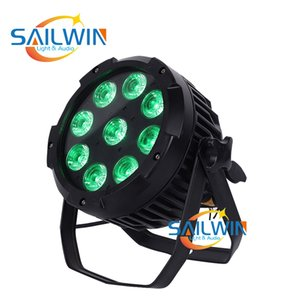 SAILWIN IP 65 WATERPROOF 9 * 18W 6in1 RGBAW UV بطارية تعمل بالطاقة LED PAR استخدام ضوء للDJ ديسكو BAR