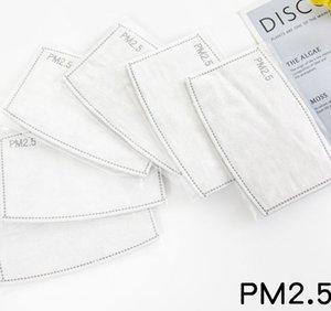 PM2.5 Activated Carbon Filter Replaceable Anti Haze Filter Replaceable Mask Filter Insert for Mask Paper PM2.5 Filters LJJK2151