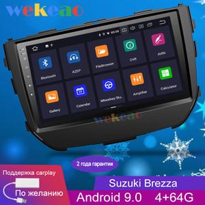 Wekeao la pantalla táctil de 9 '' Android 9.0 multimedias del coche DVD Player para Brezza la radio de coche GPS 2016-2019