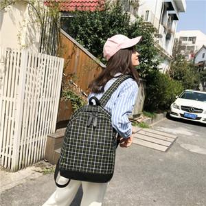 Amazing2019 Backpack Shoulders Canvas Treillis Un sac de rue original Su System petit paquet frais