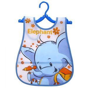 1Pcs Adjustable Baby Bibs EVA Plastic Waterproof Lunch Bibs Infant Cartoon Burp Cloths For Children Feeding Care
