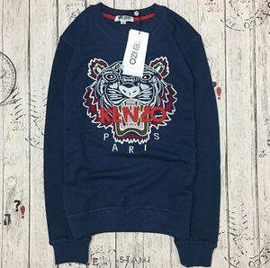 Hot famosa marca kenz00 Homens Mulheres Embroidere tigre logotipo camisola tracksuits jumper jaqueta yutuu