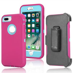 Para iPhone 12 Pro Max 2020 SE 11 XS XR 8 Plus Ultra de Samsung Nota 20 S20 S10 S10E A20 A10E armadura Defender Funda Combo + clip de la correa