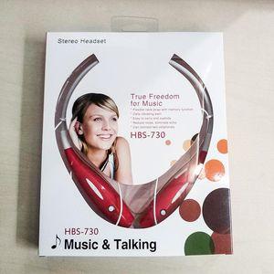 HBS 730 HBS730 fone de Ouvido Estéreo Sem Fio Bluetooth Fone De Ouvido Música Esporte fone de ouvido Para iPhone ipad Samsung Neckband Tom fone de ouvido EAR001